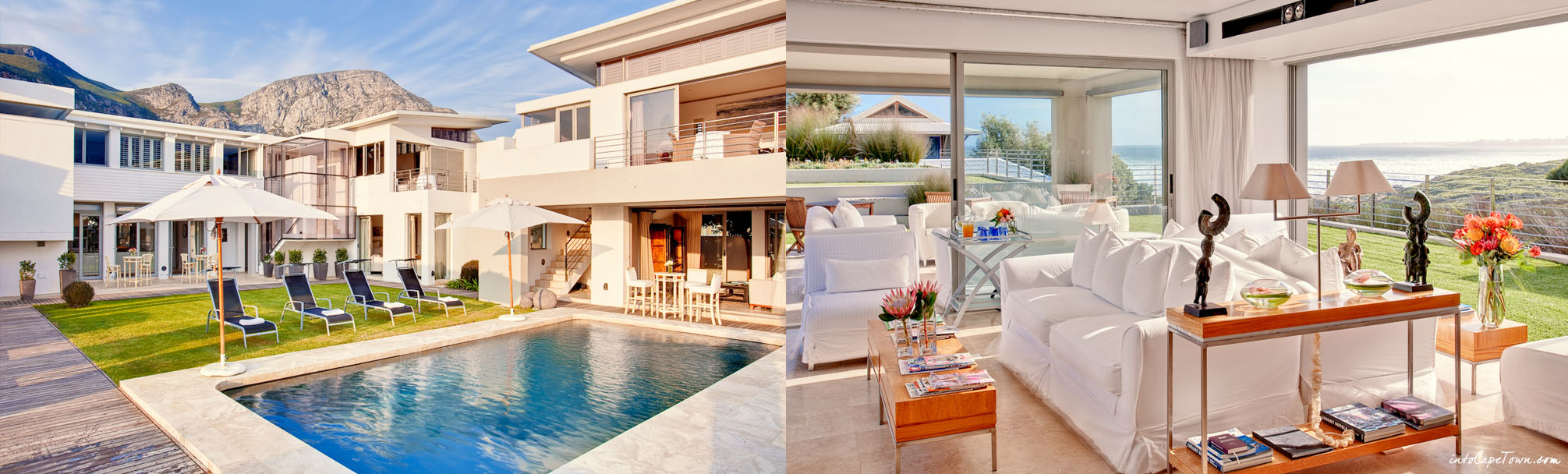 Luxury Birkenhead Villa in Hermanus on IntoCapeTown.com