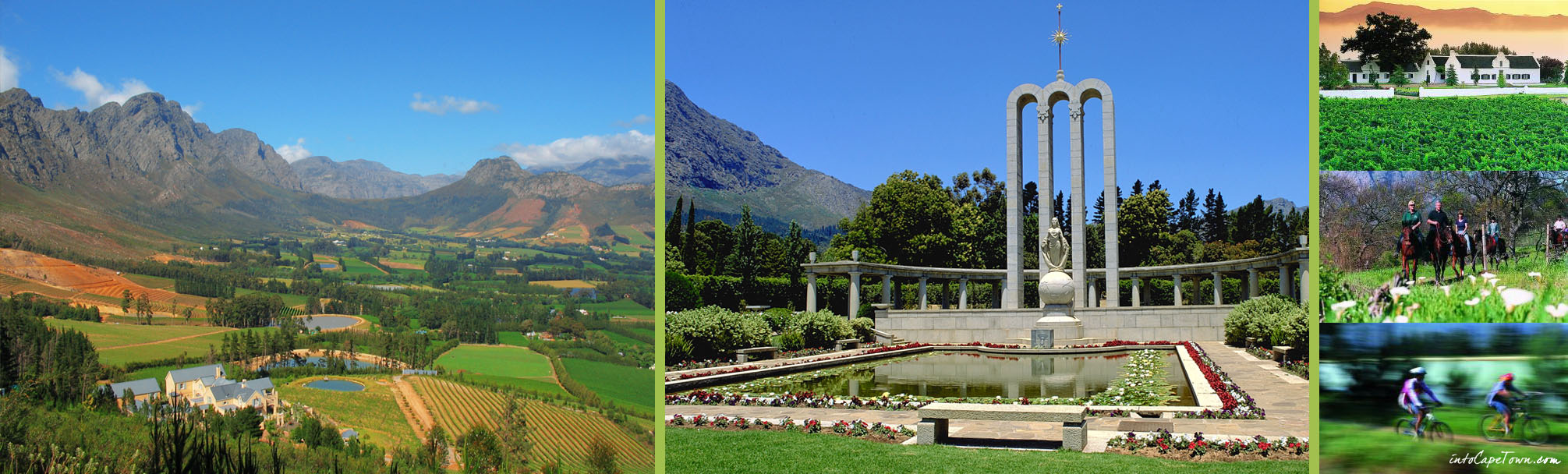 Huguenot Monument in Franschhoek on IntoCapeTown.com